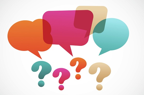 Questions and Speech Bubbles