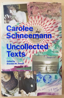Cover showing a variety of photos (people writing, someone on the beach, a comic strip) and the title in bold blue text.