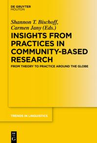 book cover: Insights from Practices in Community-based Reserach
