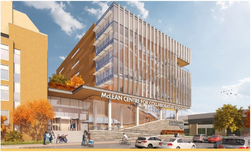 Architectural rendering of the McLean Centre for Collaborative Discovery