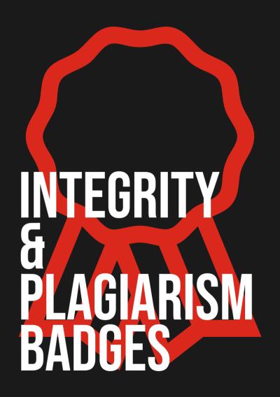 Integrity & plagiarism badges
