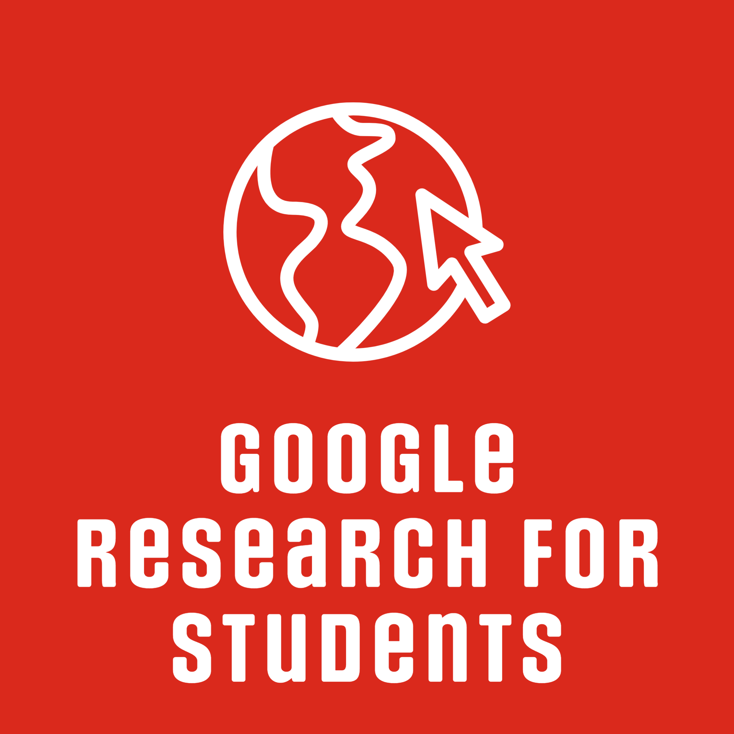 Google research for students tutorial