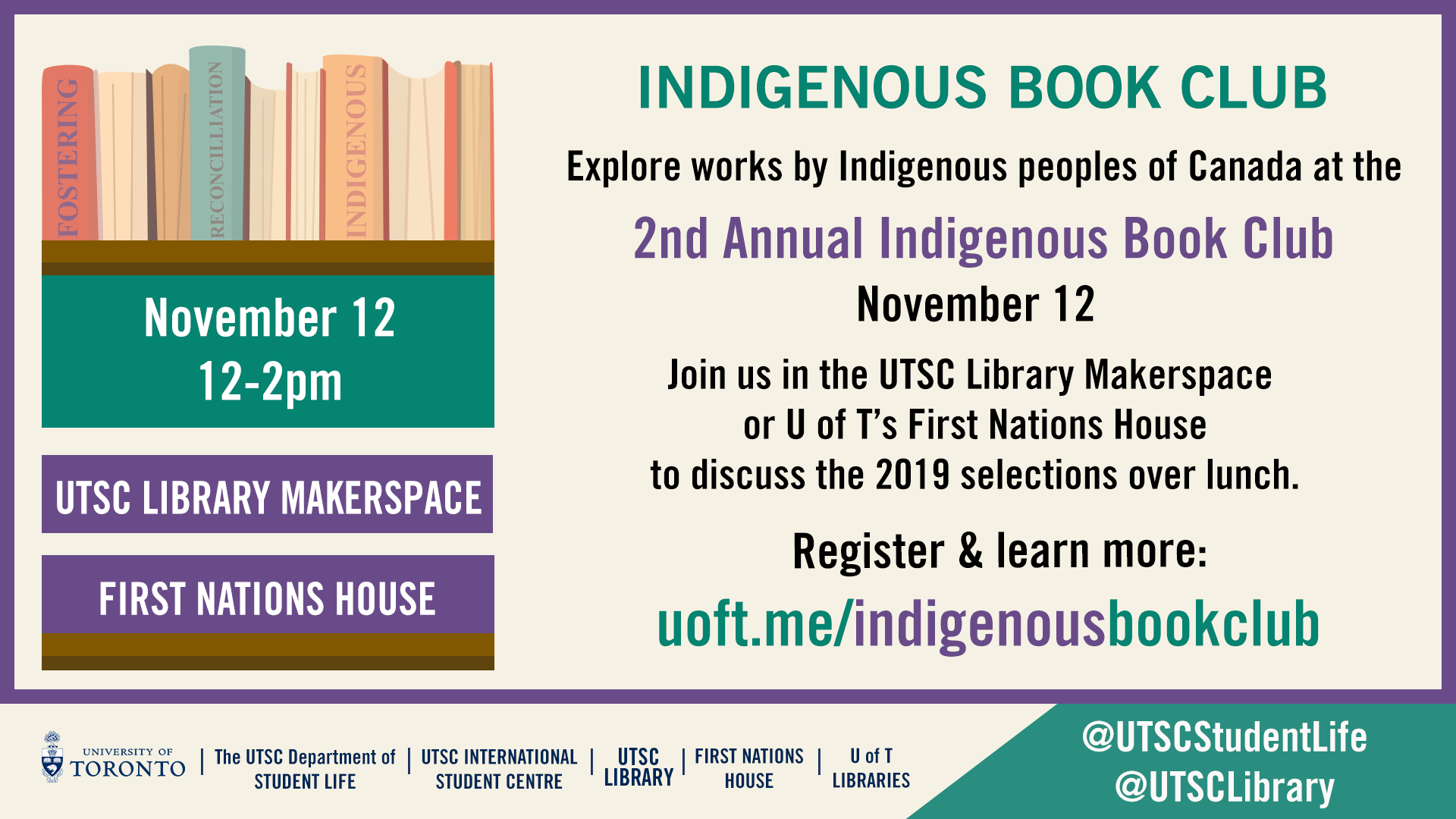 Indigenous Book Club Banner