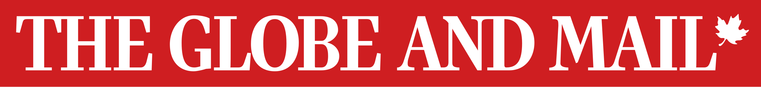 Globe and Mail Red Logo