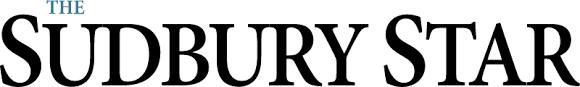 Sudbury Star Blue and Black Logo