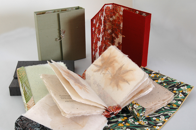 Spring, Summer, Winter, Fall artists' books