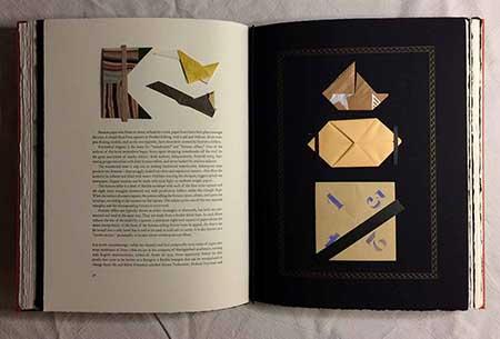 Folding Paper artists' book