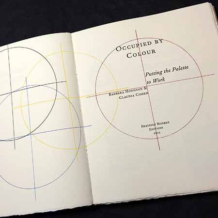 Occupied by Colour artists' book