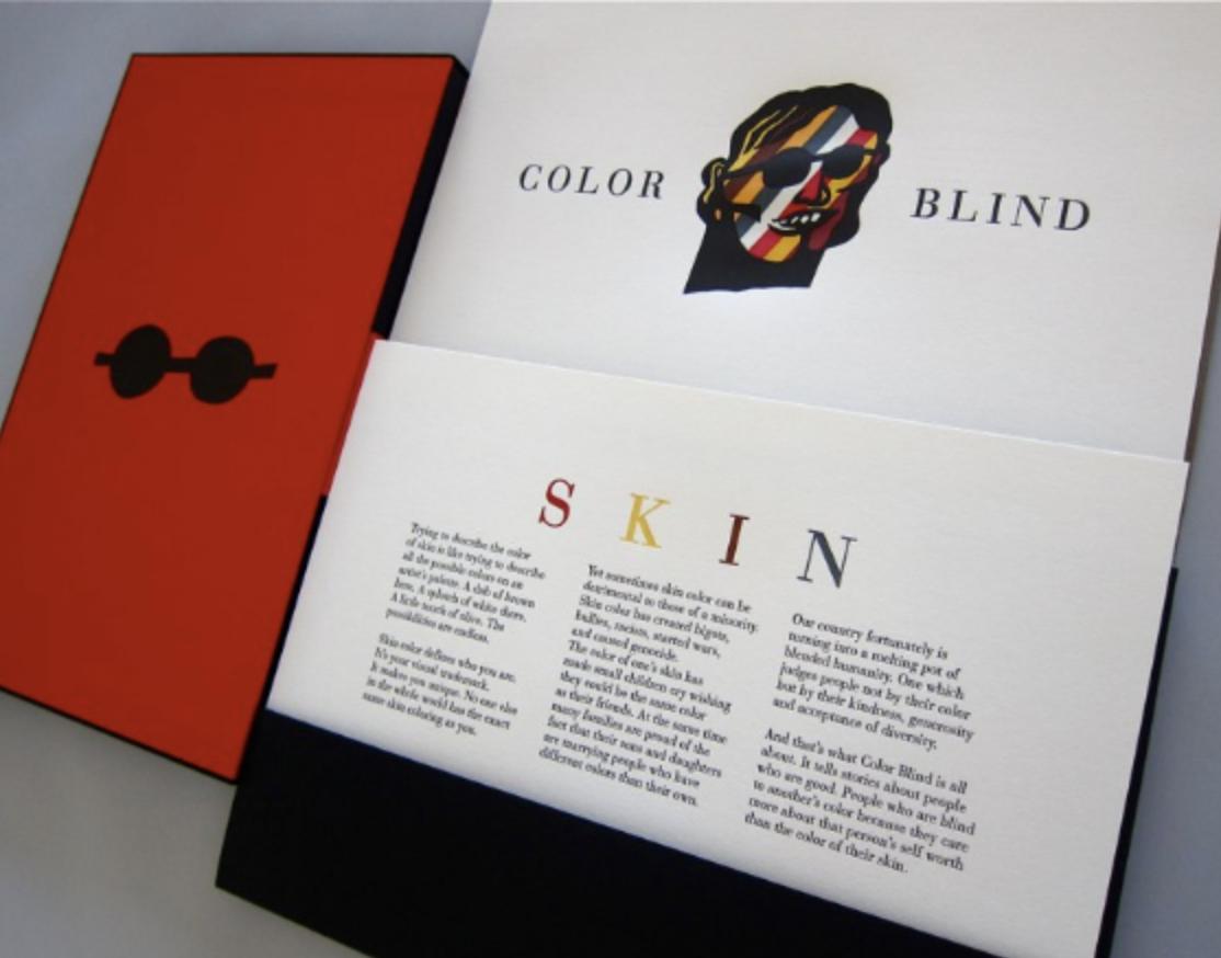 Color Blind artists' book