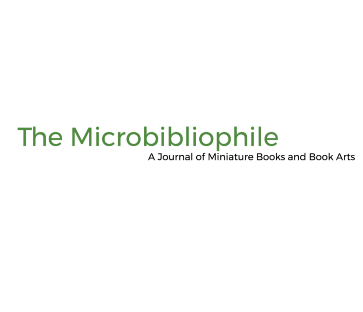 The Microbibliophile logo