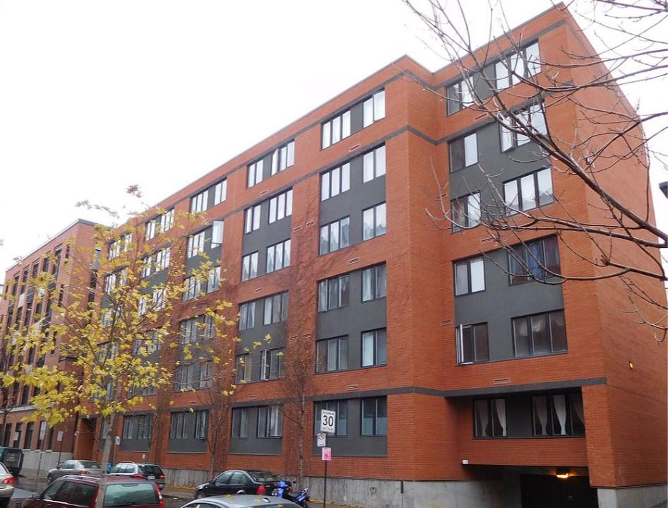Coopérative d'habitation rue Bourget à Montréal