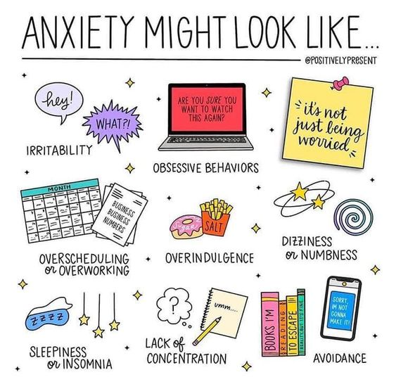 image describing what anxiety may look like