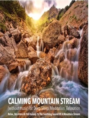 Calming Mountain Streem