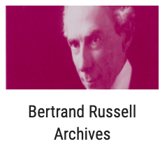 Bertrand Russell Archives and photo of man