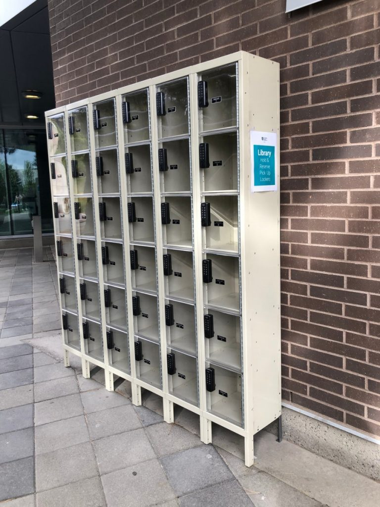 Hold Pickup Lockers Outside HOL