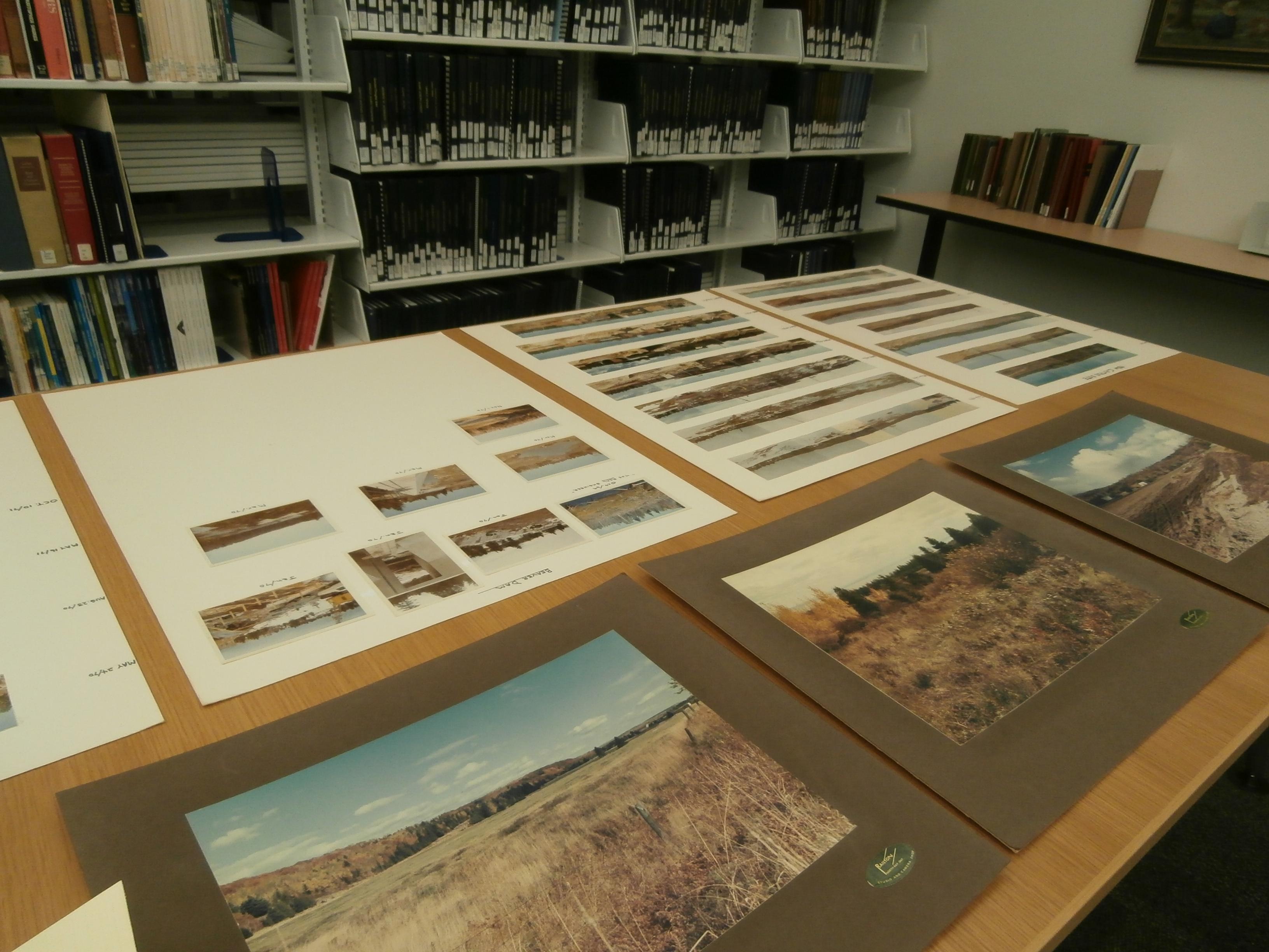 Photos of Land Prior to Campus Build