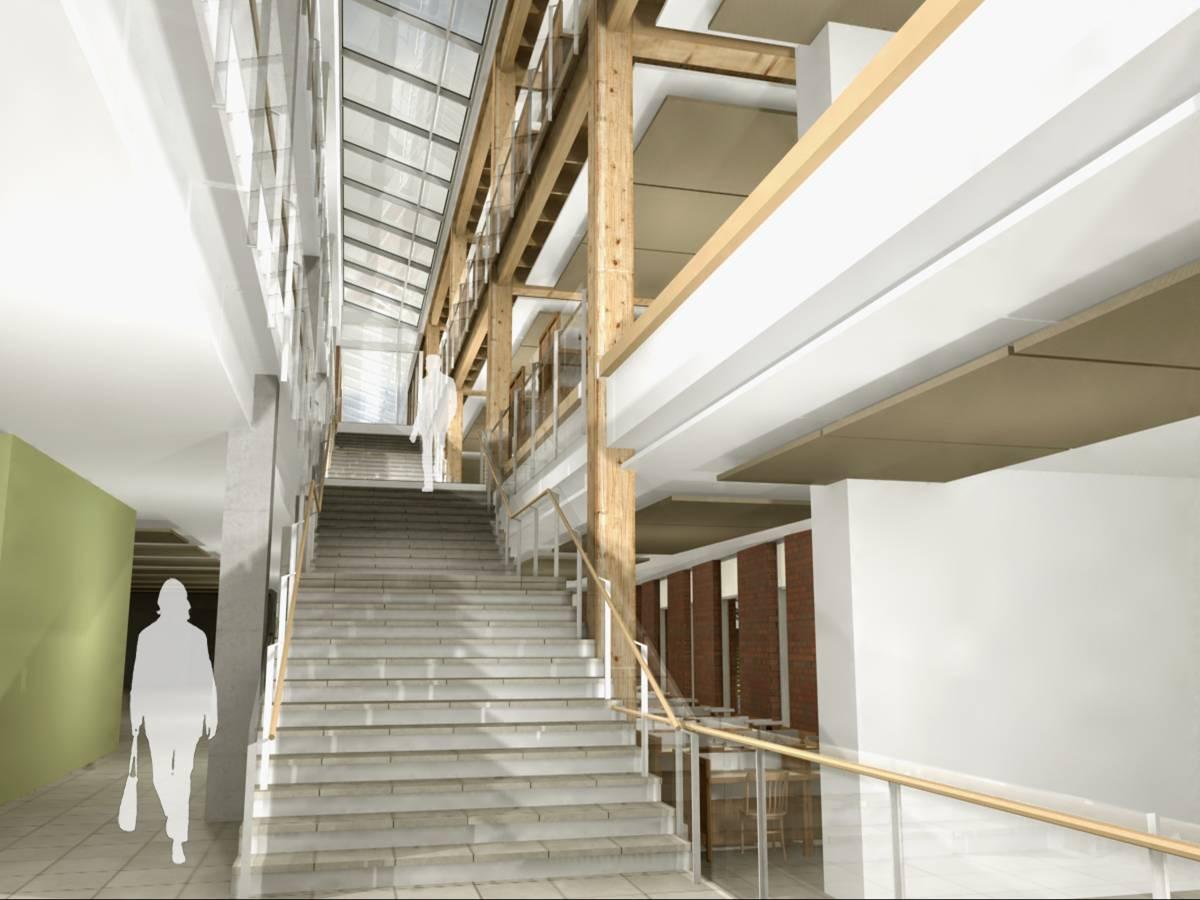 Main Stair Ground Level