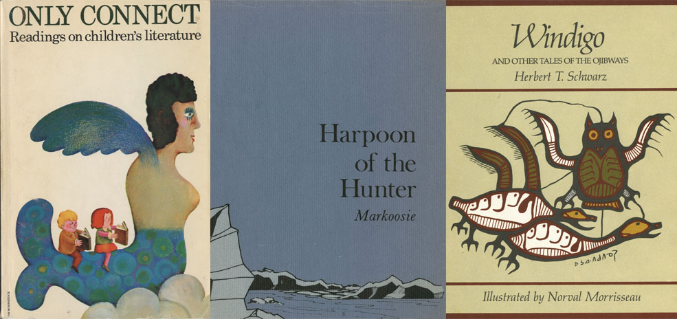3 book covers from the collection