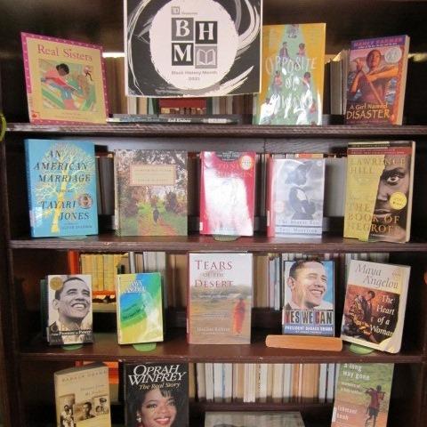 Wabush Public Library BHM Display