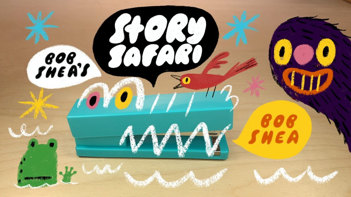 Bob Shea's Story Safari Logo