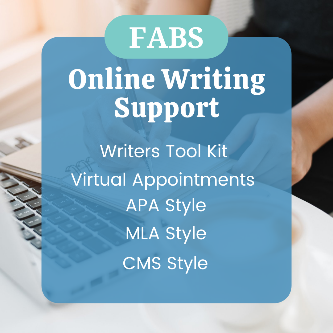 FABS Online Writing Support