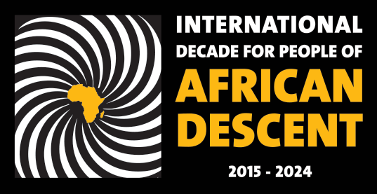 logo for UN's International Decade for People of African Descent