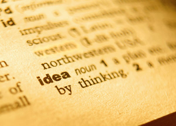 Idea Dictionary Definition