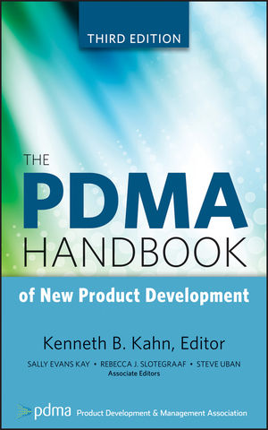 PDMA Handbook of New Product Development cover image