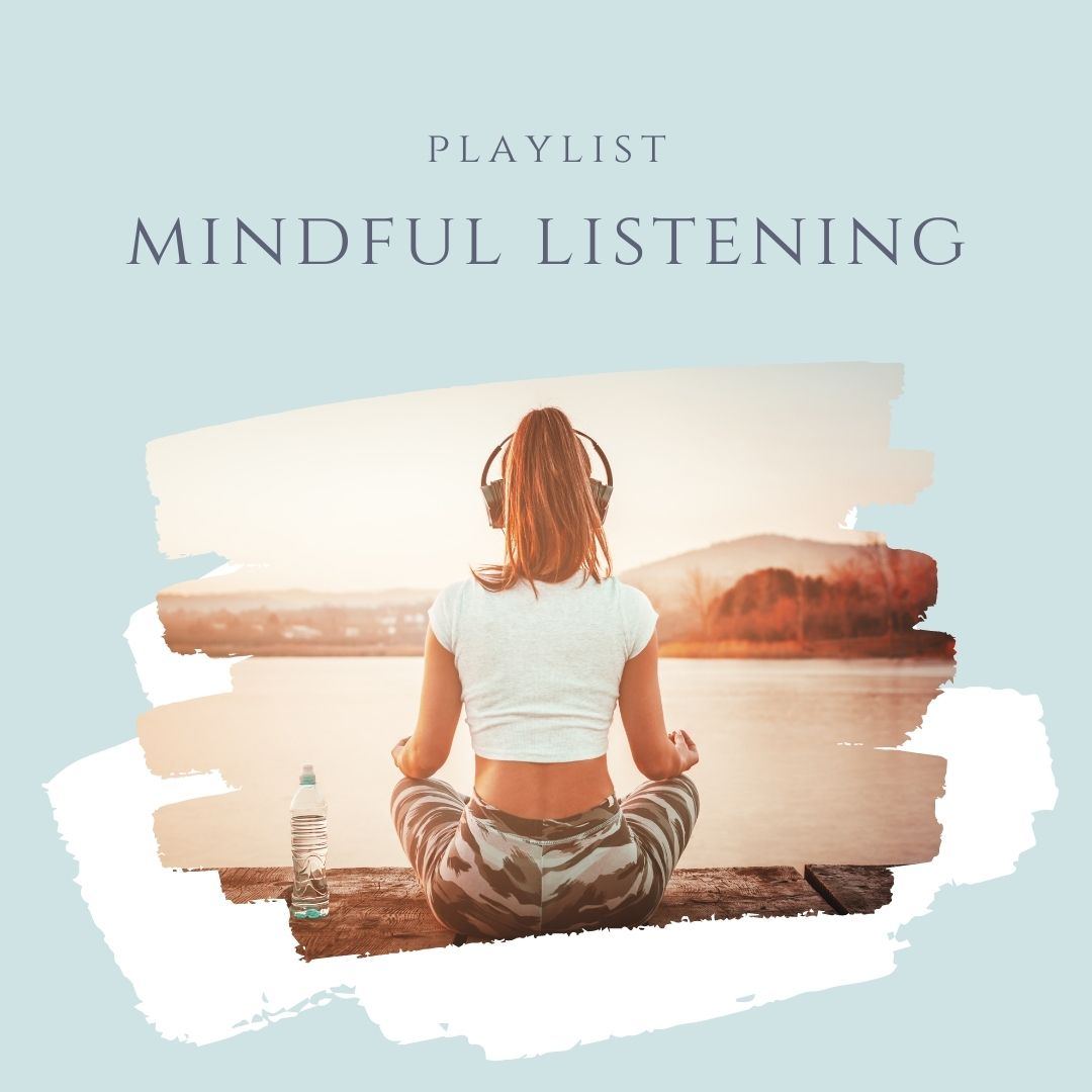 listening and relaxing
