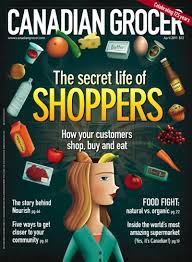 Canadian Grocer magazine cover