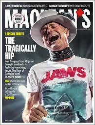 Mac'ean's magazine cover