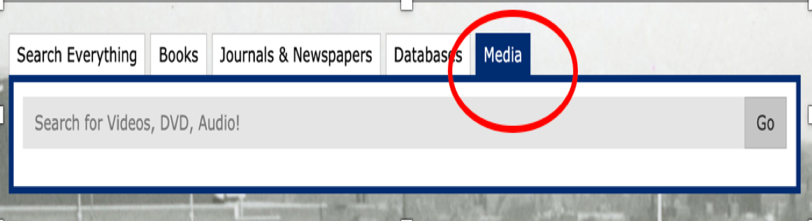 Tab on Home page called Media. Use this to find CDs