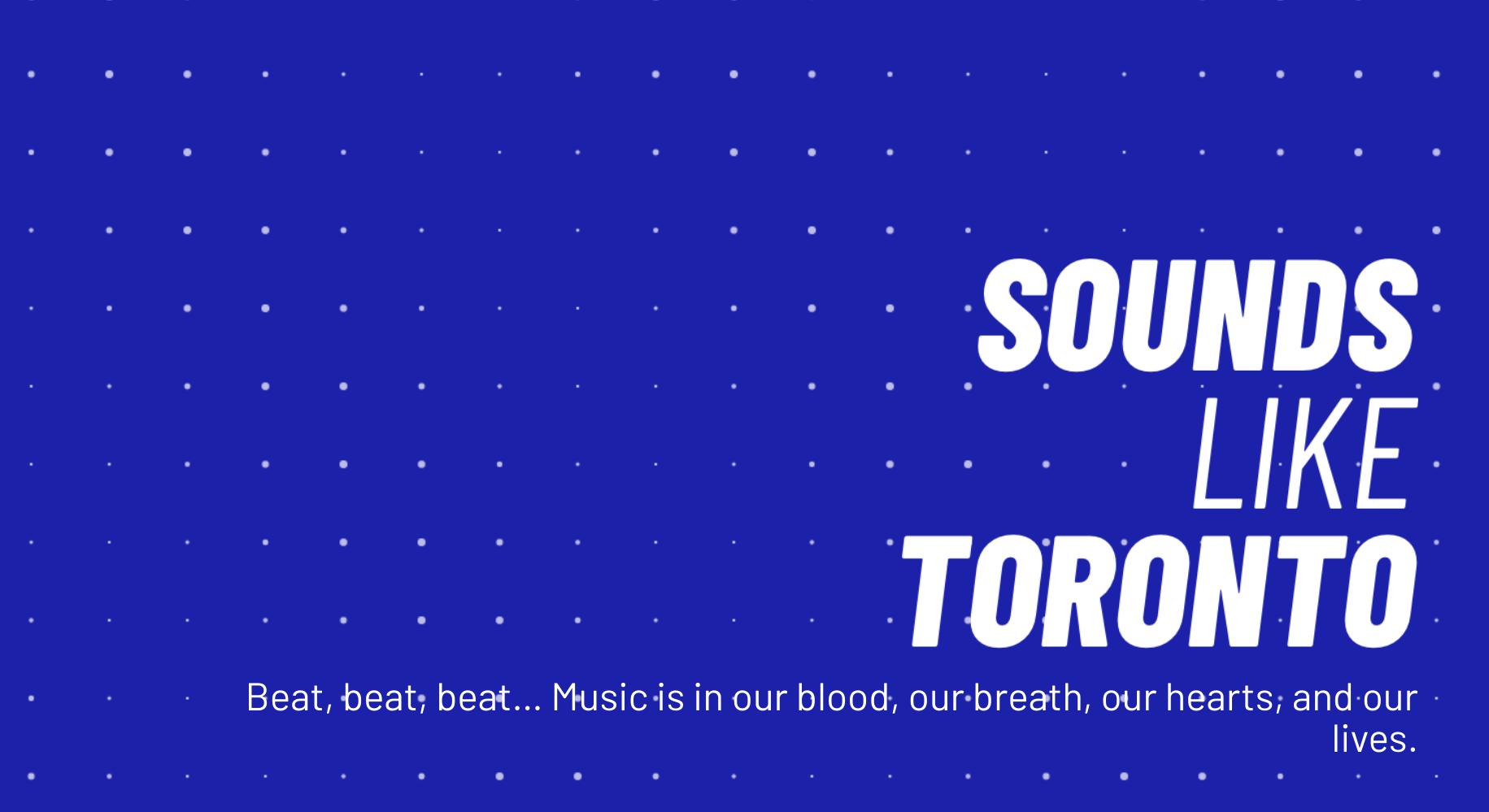 Sounds like Toronto Image
