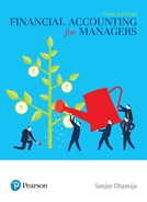 Financial Accounting for Managers, 3rd Edition - Opens in a new window