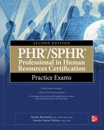 PHR/SPHR Professional in Human Resources Certification Practice Exams - open in a new window
