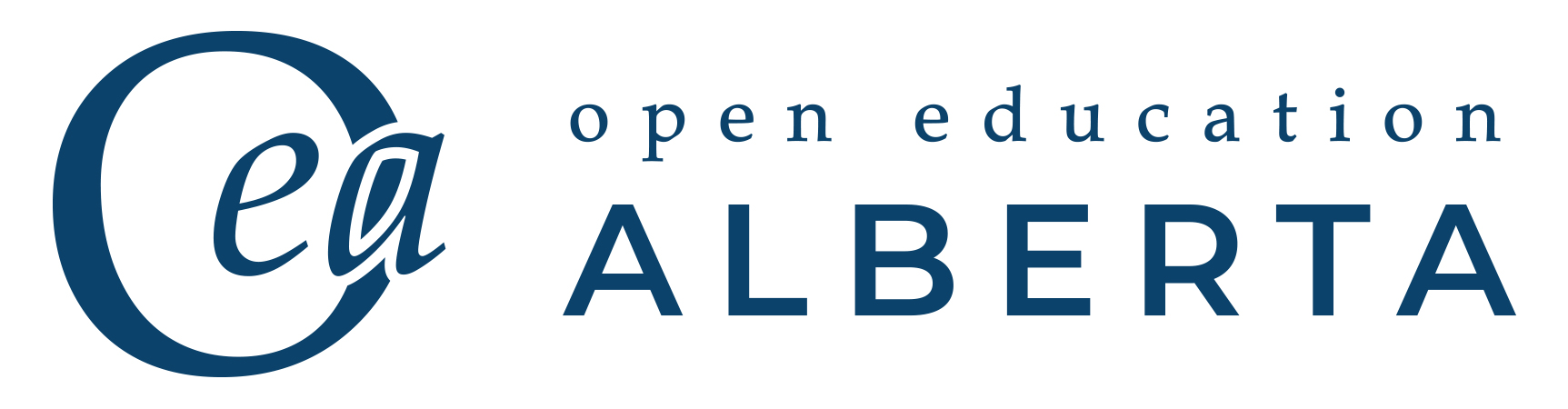 Logo for Open Education Alberta Project