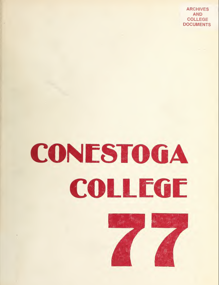Conestoga Yearbook 1977
