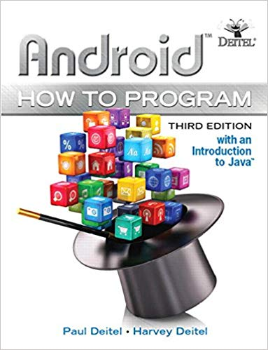 Book Cover of Android how to program : with an introduction to Java - Click to open book in a new window