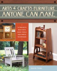 Book Cover of Arts and Crafts Furniture Anyone Can Make - Click to open book in a new window