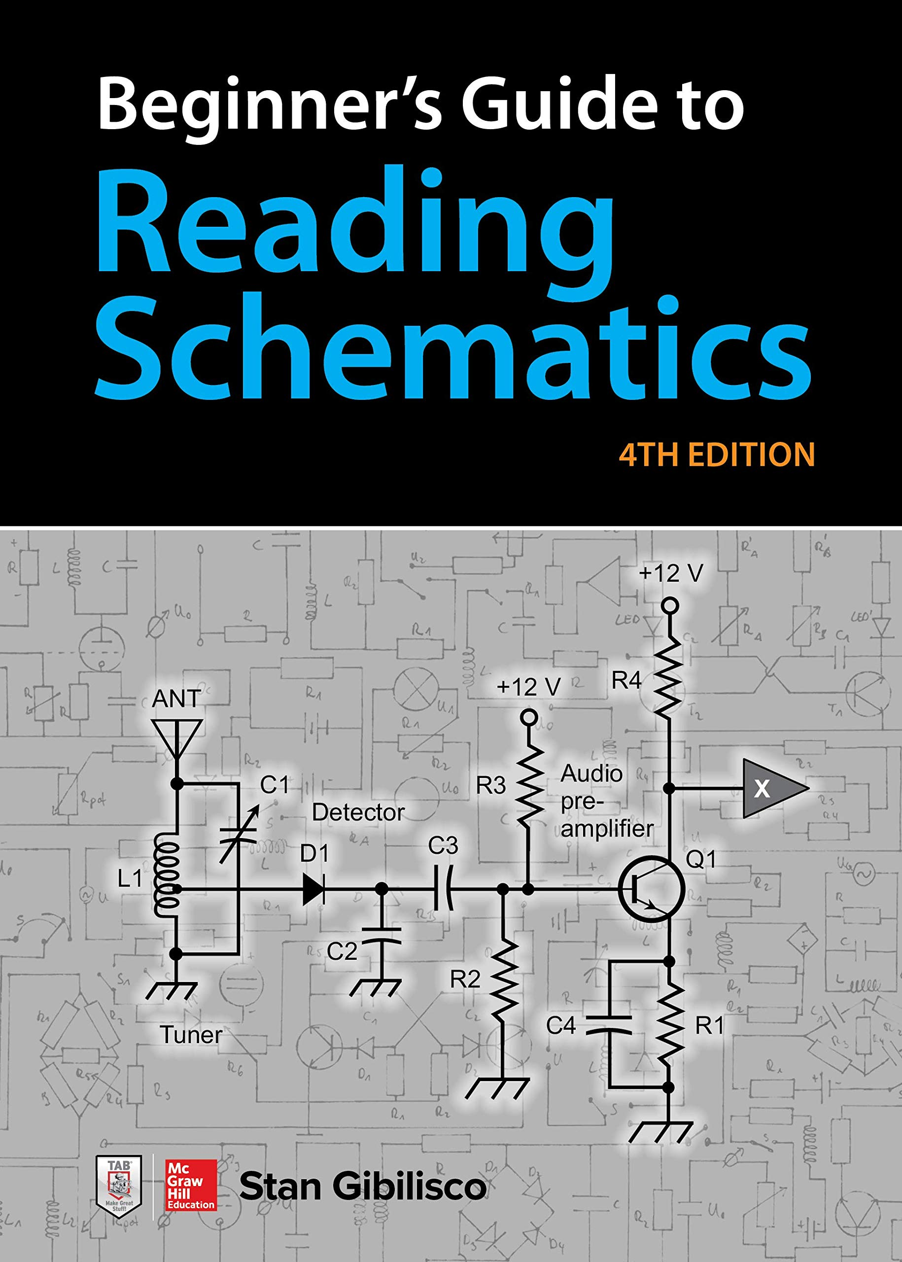 Book Cover of Beginner's Guide to Reading Schematics - Click to open book in a new window