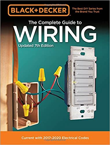 Book Cover of The Complete Guide to Wiring : Current with 2017-2020 Electrical Codes - Click to open book in a new window