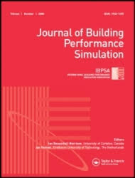 Book Cover of Journal of Building Performance Simulation - Click to open book in a new window
