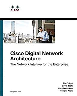 Book Cover of Cisco Digital Network Architecture: Intent-based Networking for the Enterprise - Click to open book in a new window