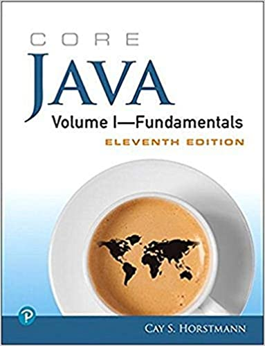 Book Cover of Core Java Volume I--Fundamentals - Click to open book in a new window
