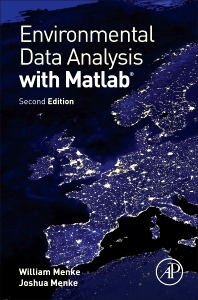 Book Cover of Environmental Data Analysis with MatLab - Click to open book in a new window