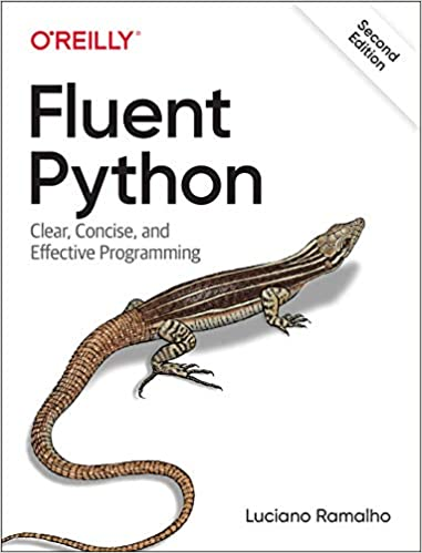 Book Cover of Fluent Python - Click to open book in a new window