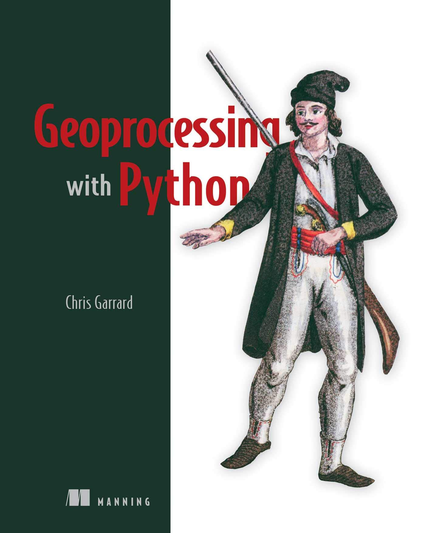 Book Cover of Geoprocessing with Python - Click to open book in a new window