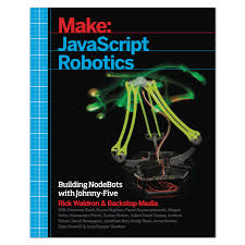 Book Cover of JavaScript Robotics - Click to open book in a new window