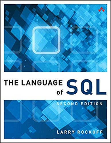 Book Cover of The Language of SQL - Click to open book in a new window