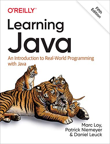 Book Cover of Learning Java - Click to open book in a new window